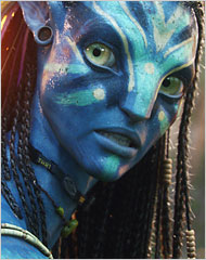 Neytiri from Avatar. Image: WETA/20th century Fox.