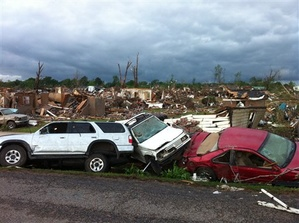 The devastation in Alabama after the 27 April 2011 tornado outbreak.